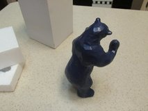 A Blue Bear?  What! -- Interesting Novelty Figurine (2 Of These Gift-Boxed) in Kingwood, Texas