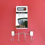WEBER #1201 BBQ KETTLE GRILL TOOL HOLDER 4 HOOKS NIP in Plainfield, Illinois