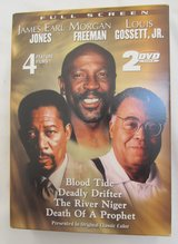 Reduced~2 DVD Set~James Earl Jones, Morgan Freeman & Louis Gossett,JR in Sugar Grove, Illinois