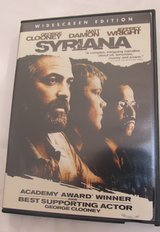 Syrlana~George Clooney, Matt Damon & Jeffrey Wright in Sugar Grove, Illinois