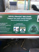 It's that time of year. Easy adjust Christmas tree stand in Alamogordo, New Mexico