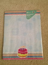 NEW PAK Birthday Paper Stationary in Aurora, Illinois