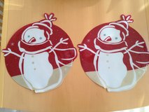 Christmas Snowmen Placemats (2) in Chicago, Illinois