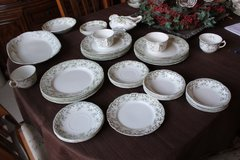 ANTIQUE HENRY ALCOCK OXFORD PORCELAIN MIXED LOT PLATES SAUCERS CUPS PLATTER circa 1880-1910 in Bolingbrook, Illinois