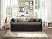 NEW STYLE DAY BED WITH TRUNDLE FREE DELIVERY in Riverside, California