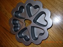 NordicWare Heart Shaped Muffin Pan in Fort Campbell, Kentucky