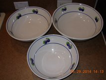 Crate and Barrel 3 Piece Bowl Set in Fort Campbell, Kentucky