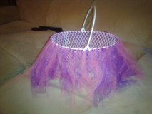 pink & purple tutu basket in Fort Campbell, Kentucky