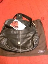 Authentic Leather Coach Purse REDUCED PRICE in Okinawa, Japan