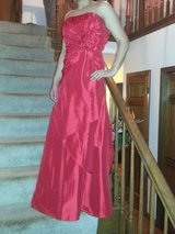 Beautiful red evening gown in Aurora, Illinois
