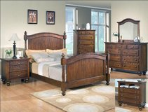 Save $100 With Your Military ID! Solid Wood Sommer Master Bedroom Suite BRAND NEW in Fairfax, Virginia