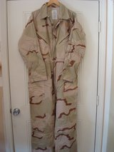 Desert Tri-Color Coveralls in Camp Pendleton, California