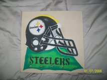 Pittsburgh Steelers Sand Painting in Alamogordo, New Mexico