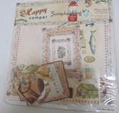 Reduced~Happy Camper Scrapbook Kit in Sandwich, Illinois
