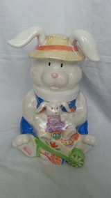NIP Easter Bunny Cookie Jar in Morris, Illinois