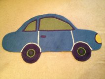 Like NEW!! Pottery Barn Car Rug in Westmont, Illinois