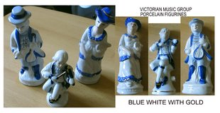 Vintage Victorian Music Group - BlueWhiteGold - Rare in Stuttgart, GE