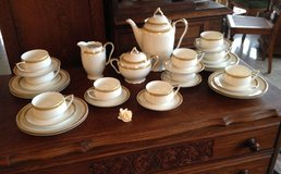 elegant coffee set from the 1930's in Ramstein, Germany
