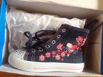 Katy hi tops denim canvas new in Westmont, Illinois