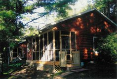 vacation weekly cabin rental on the lake, Minocqua, WI in Wheaton, Illinois