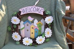 Welcome Wreath and 2 cute signs in Cherry Point, North Carolina