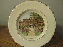 Reduced~Souvenir Plate~Longfellow's Wayside Inn in Chicago, Illinois
