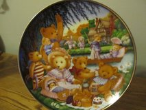 Teddy Bear Picnic Plate in Yorkville, Illinois