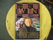 Racing to Win, Joe Gibbs with Ken Abraham. book  in Fort Carson, Colorado