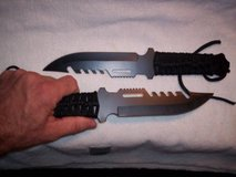 NEW! Black Survival Knives in Beaufort, South Carolina