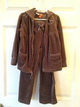 Girl 6T Velour Pants & Jacket in Bolingbrook, Illinois