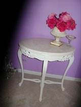 shabby chic french oval table in Plainfield, Illinois