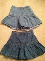 Girl 4 & 6T Denim Skorts in Bolingbrook, Illinois